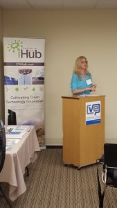 Laura Pellior of CVEP describes their iHub and other resources for local, job creating businesses.